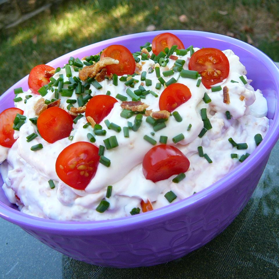 The Best Bacon-Tomato Dip