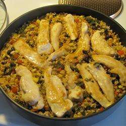 Cilantro Chicken and Rice