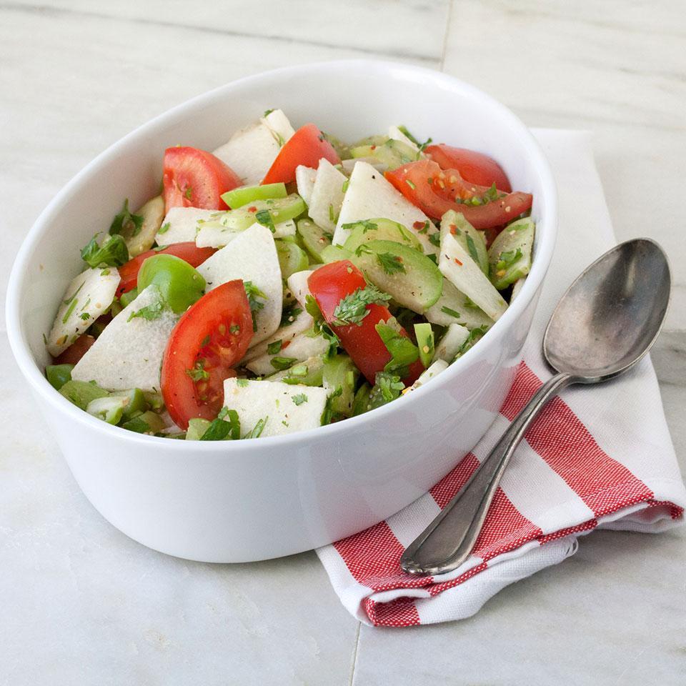 Fresh Tomatillo Salad Breana Killeen