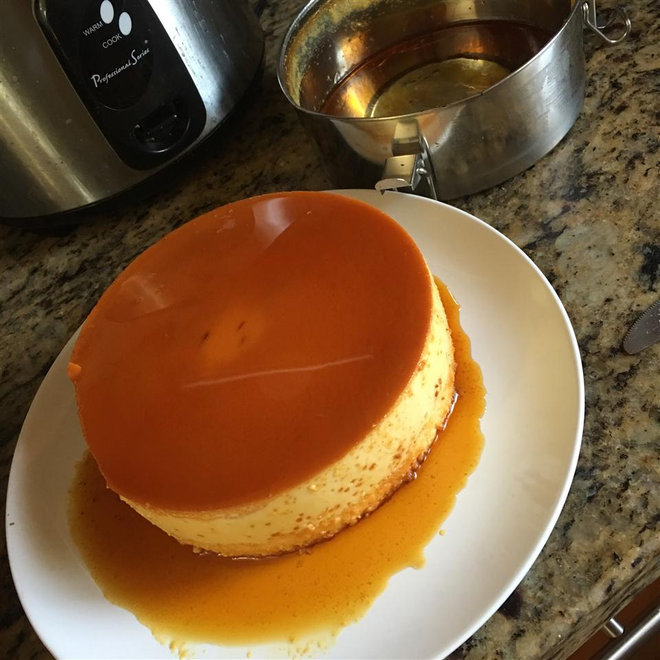 Flan de Queso (Cream Cheese Flan)