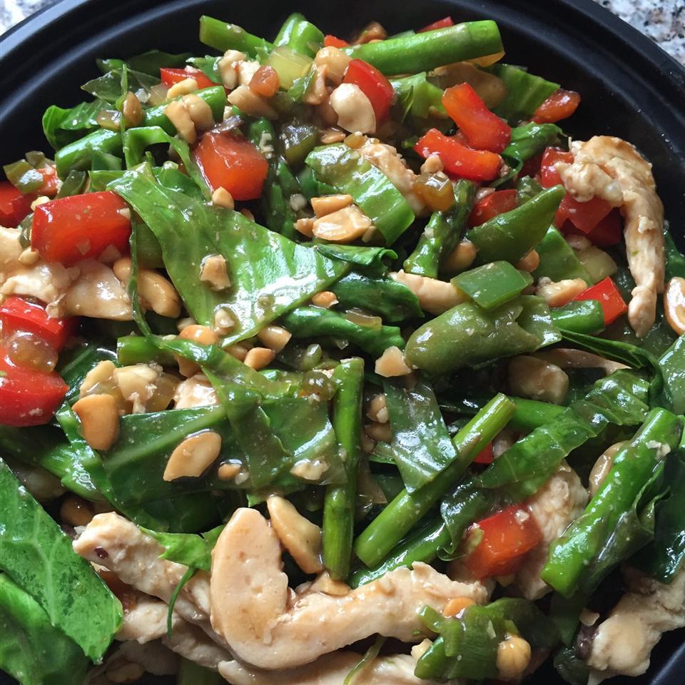 Cashew Chicken Stir Fry Recipe