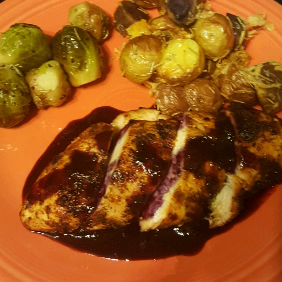 Red, White, and Blueberry Grilled Chicken Jessica Cowen