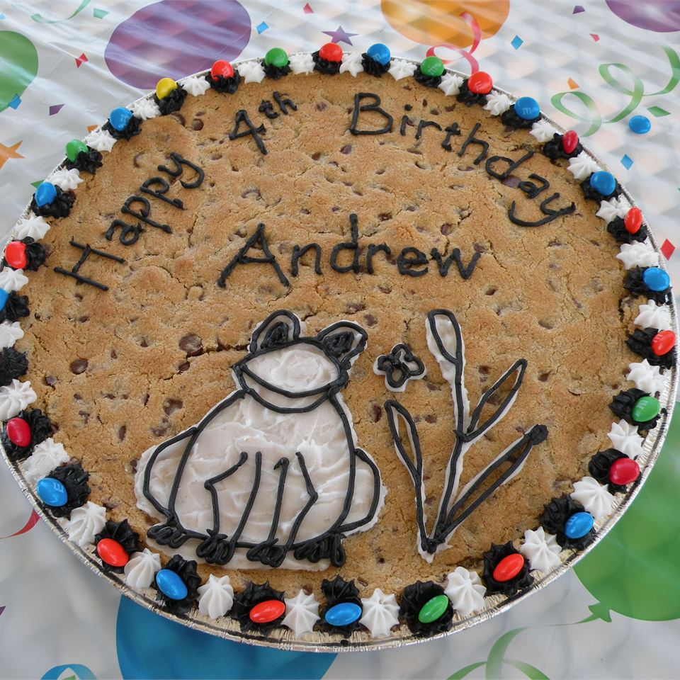 Incredible Giant Chocolate Chip Cookie Allrecipes Birthday Cards Printable Benkemecafe Filternl