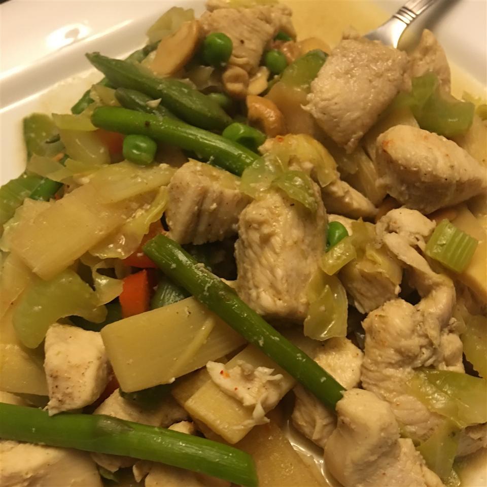 Cashew Chicken Stir Fry Ian Slater