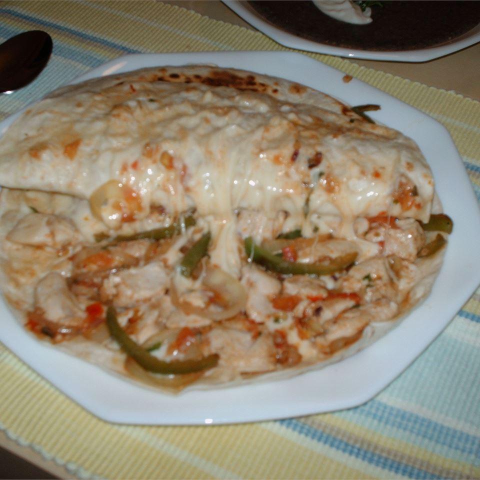 Pico de Gallo Chicken Quesadillas Lauren N.