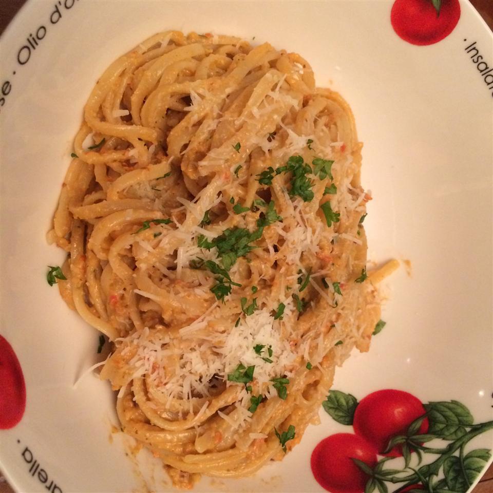 Tomato Almond Pesto (Trapanese)