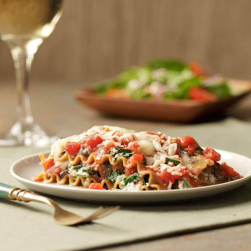 Slow-Cooker Vegetarian Lasagna EatingWell Test Kitchen
