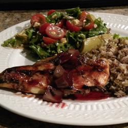 Blushing Pomegranate Chicken hannahjo27