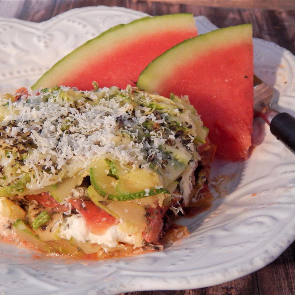 Reinvented Zucchini Gratin
