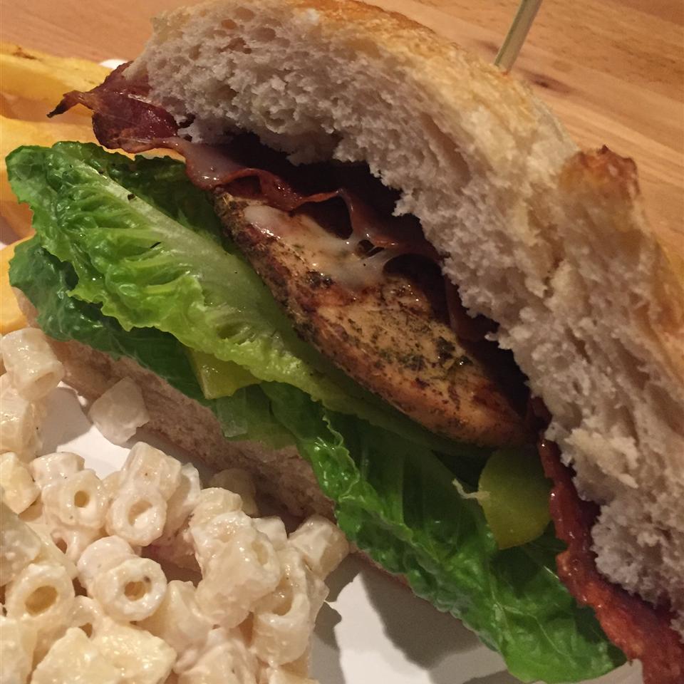 Bacon Jack Chicken Sandwich