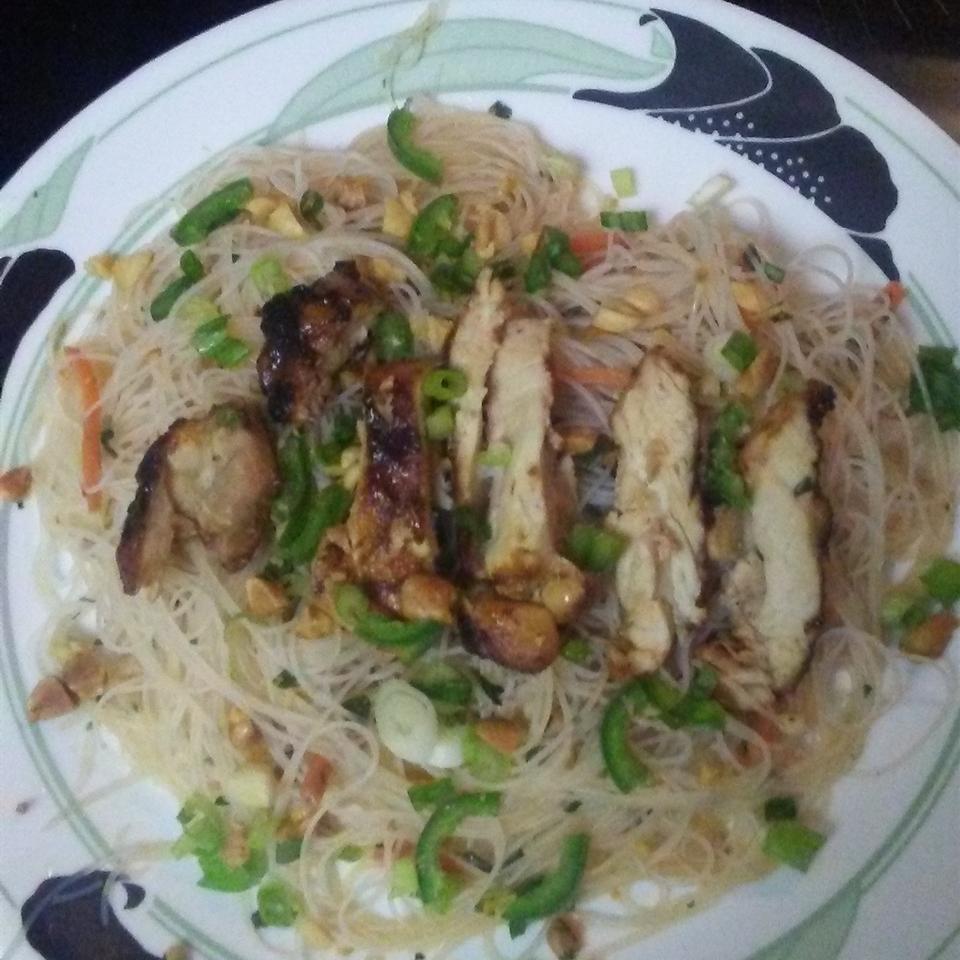 Spicy Rice Noodle Salad Joan Spencer Martins