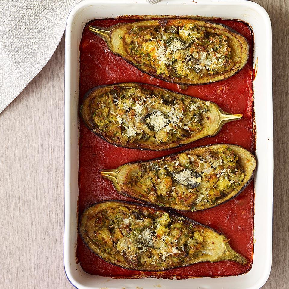 Stuffed Eggplant Jane Black