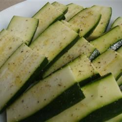 Grilled Zucchini I House of Aqua