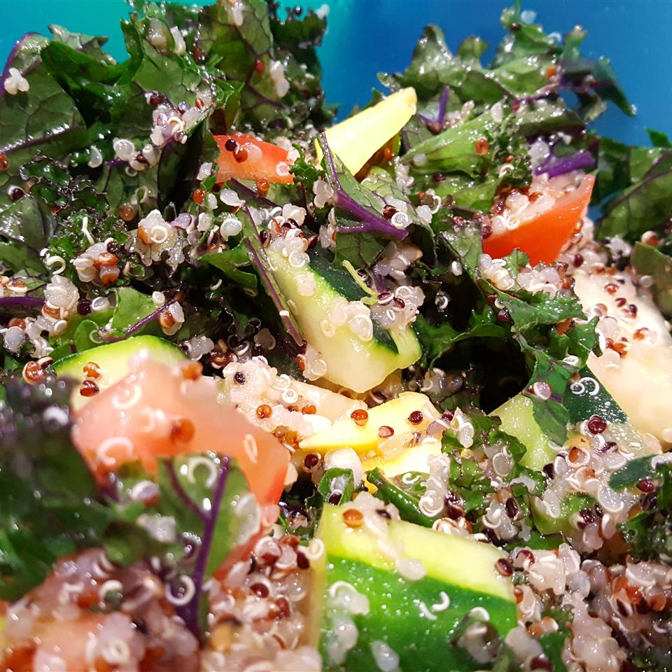 Kale Tabbouleh with Quinoa