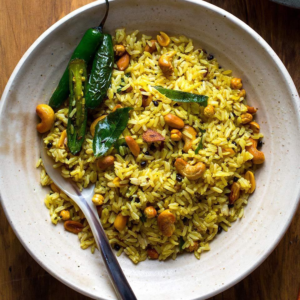 Lemon Rice (Chitrannam) Shefaly Ravula & Amee Meghani