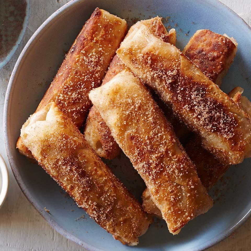 Fried Apple Pie Rolls Breana Killeen