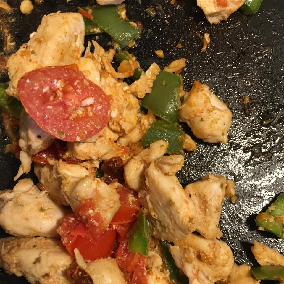 Chicken and Bacon Fajitas Jacquie Forrer