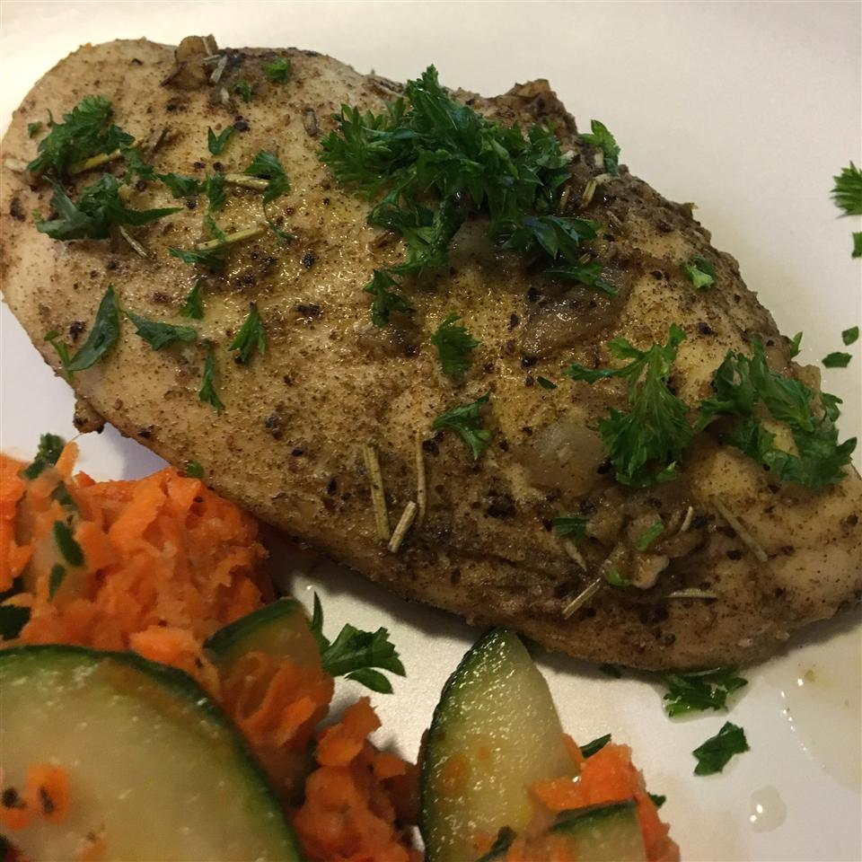 Chicken Breasts with Herb Basting Sauce