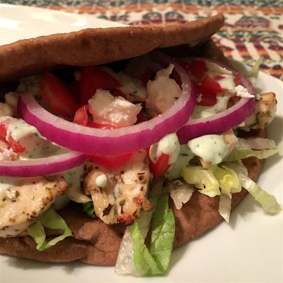 Easy Chicken Gyro Happyschmoopies