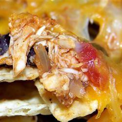 Restaurant Style Chicken Nachos Tara