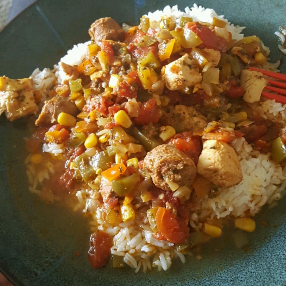 Colleen's Slow Cooker Jambalaya Kiarrii