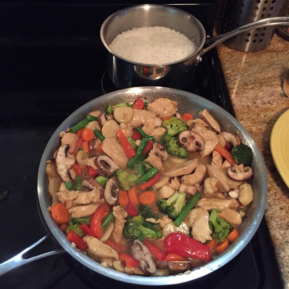 Orange Chicken Stir-Fry Jeffrey Alan Christian Tanner
