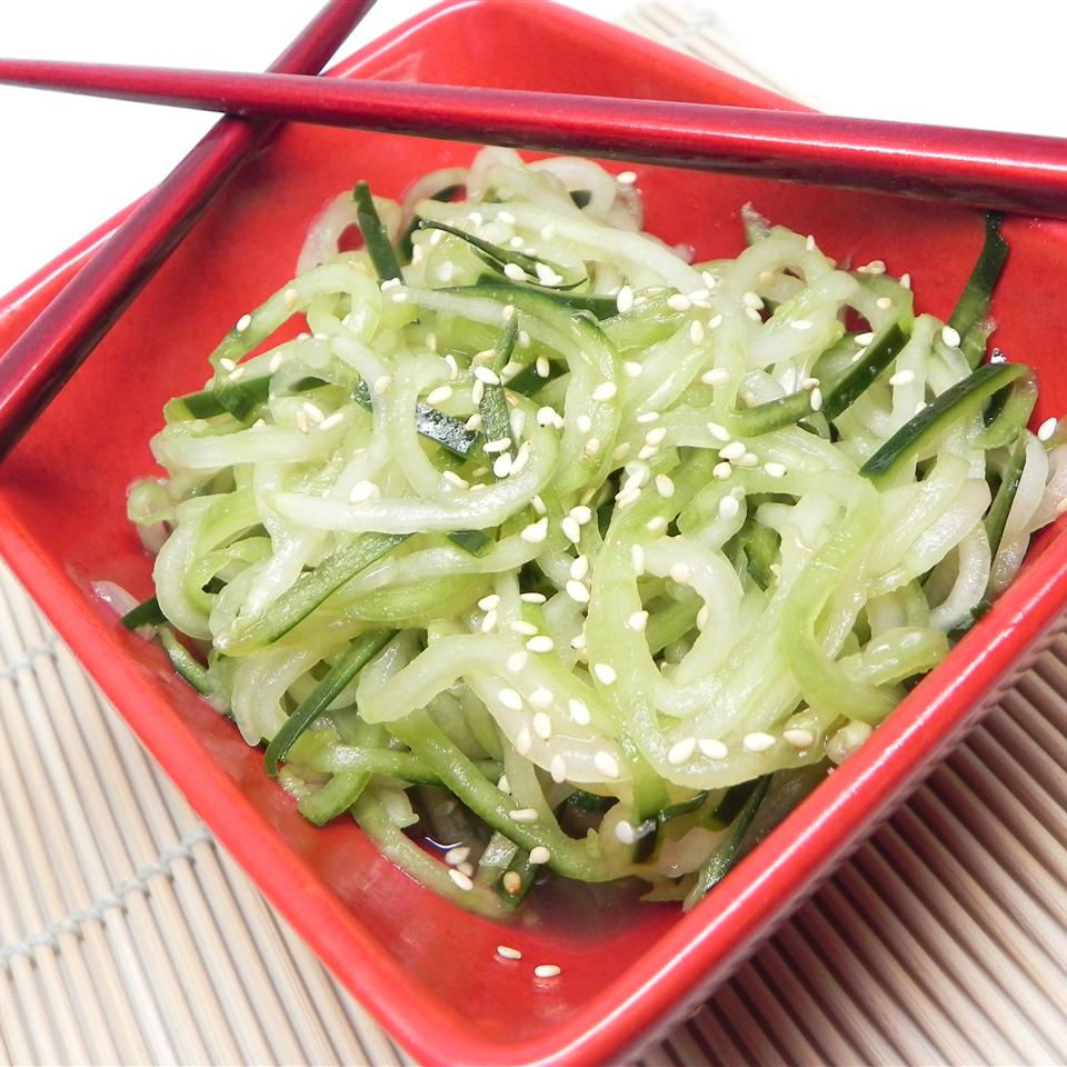 Quick and Easy Asian Sesame Cucumber Salad