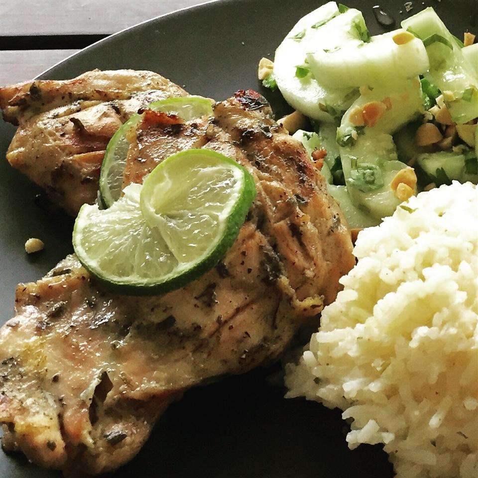 Lime-Tarragon Grilled Chicken Cynthia Betancourt