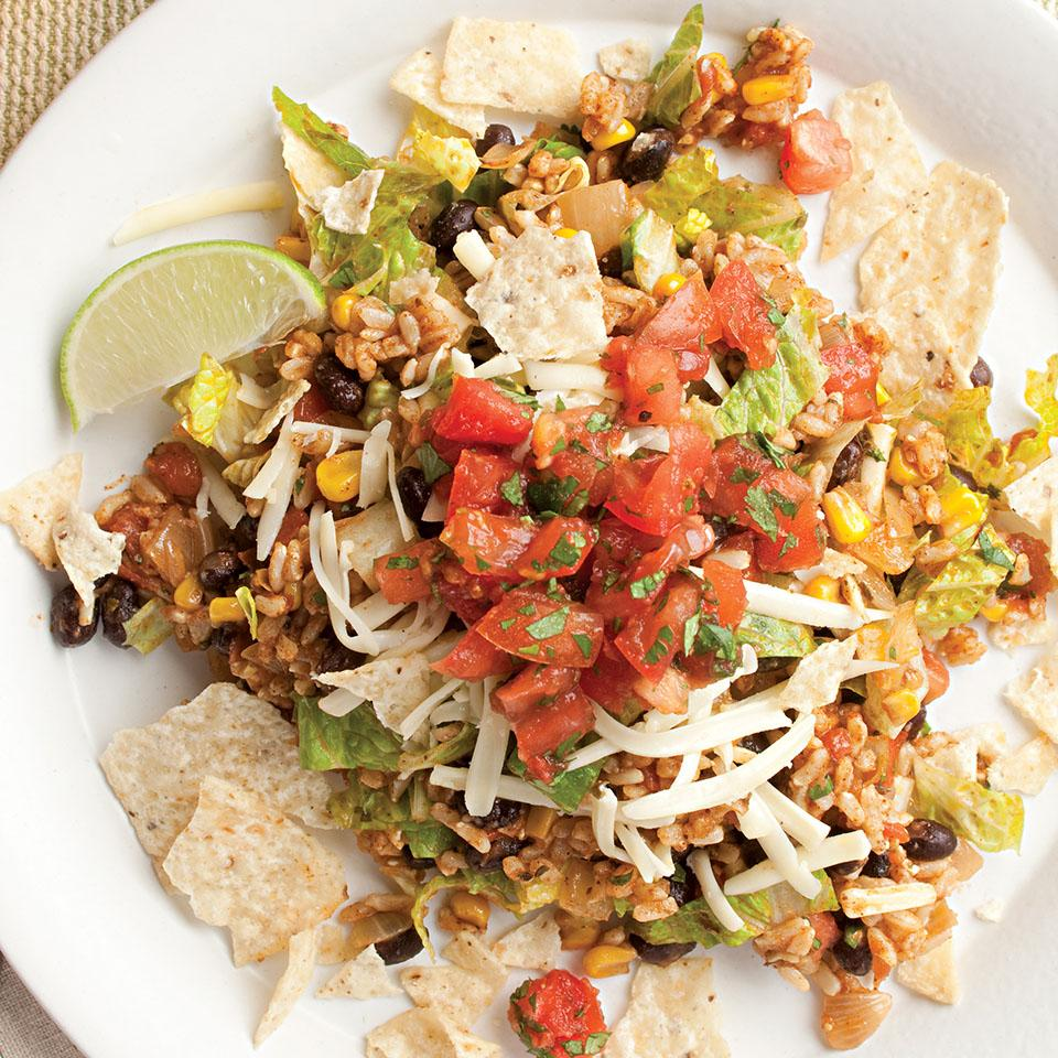Vegetarian Taco Salad EatingWell Test Kitchen