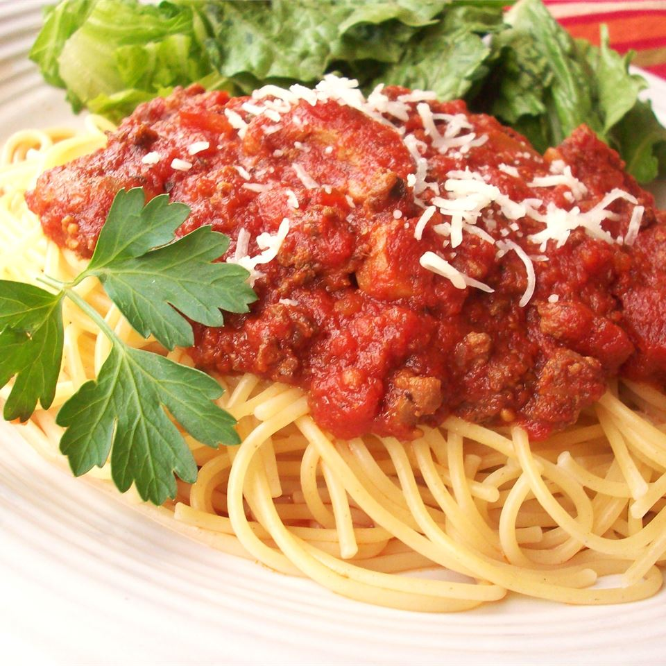 Meat-Lover's Slow Cooker Spaghetti Sauce_image