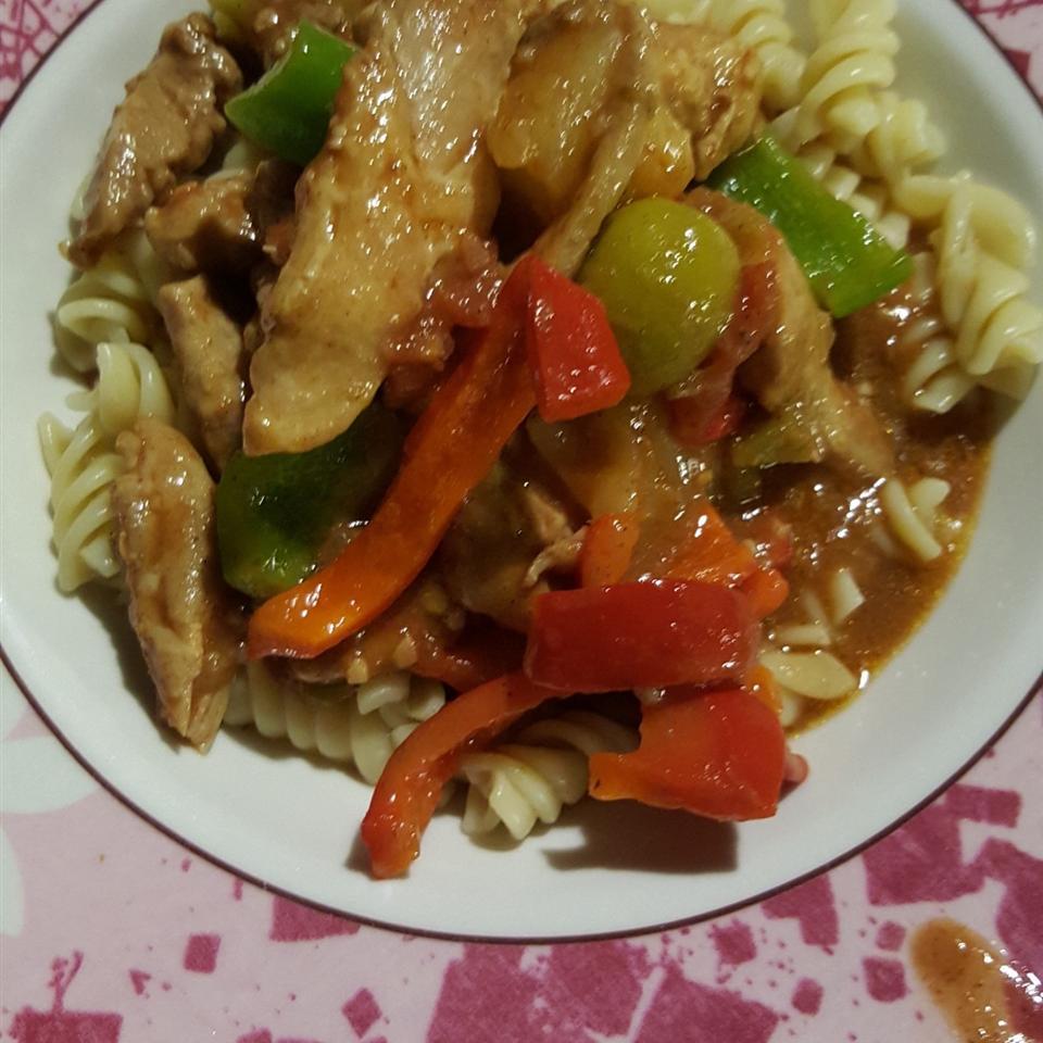Chicken Costa Brava
