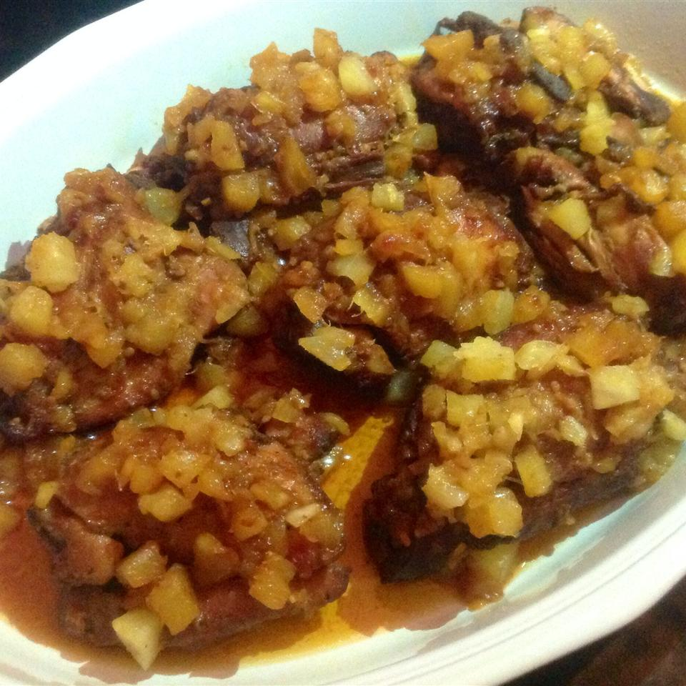 Slow Cooker Honey Garlic Chicken Elaine Leung