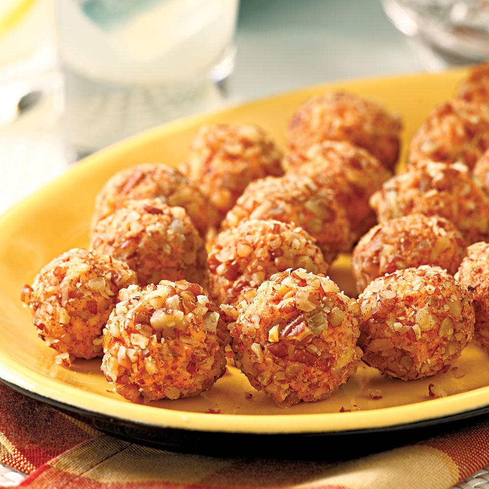 Nutty Pimiento Cheese Balls EatingWell Test Kitchen