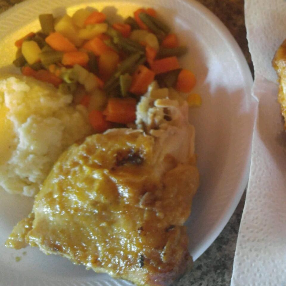 Oven-Baked Chicken Michael Young