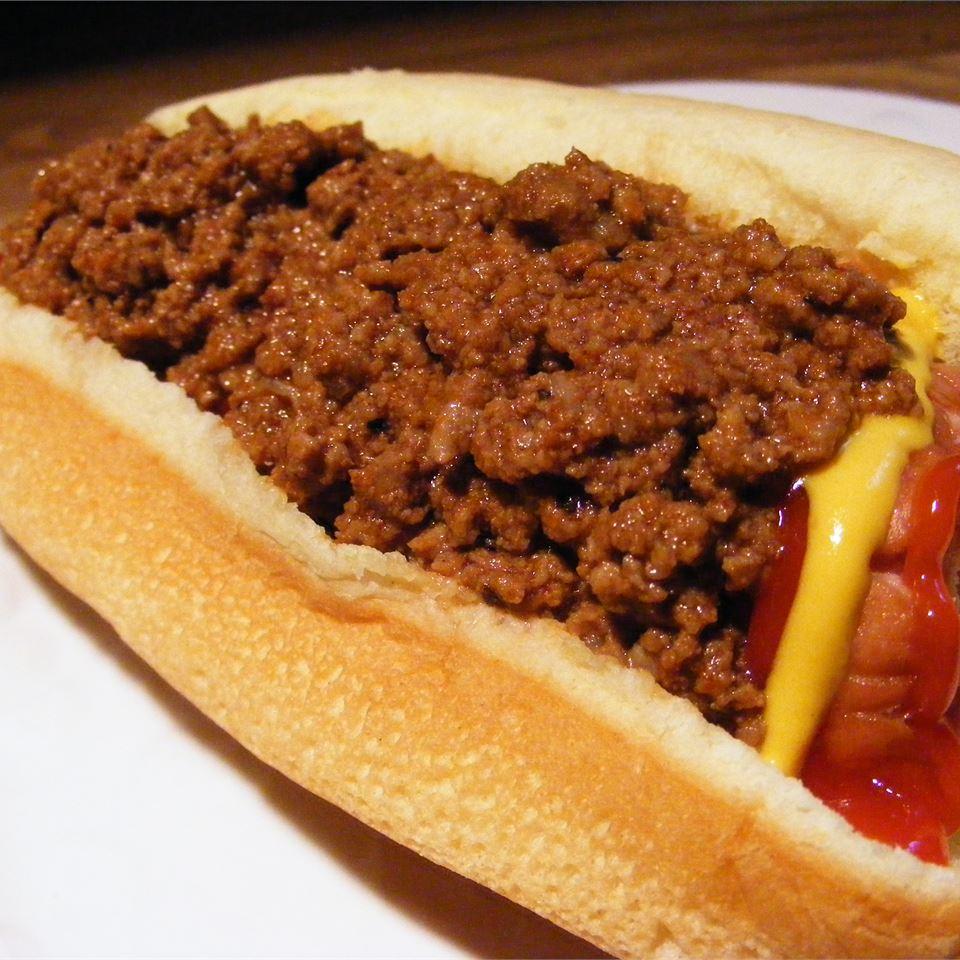 Heavenly Hot Dog Sauce Recipe Allrecipes