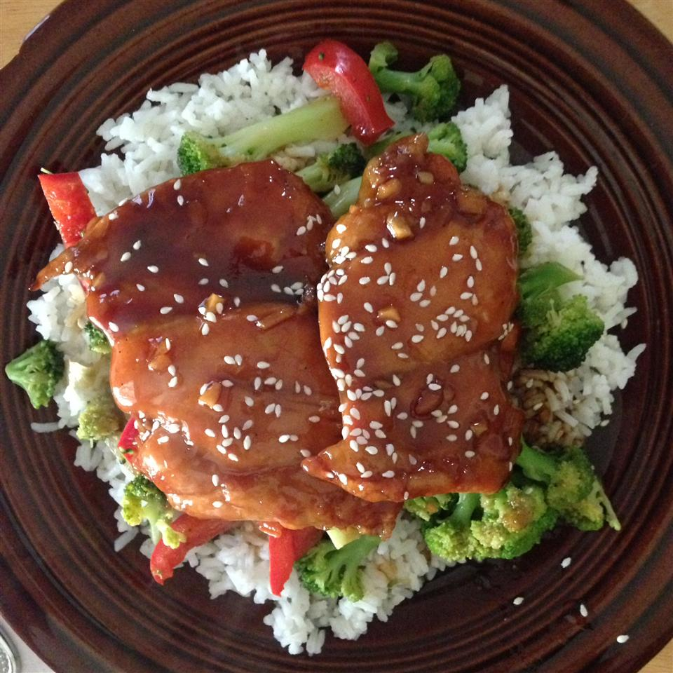 Baked Teriyaki Chicken Rachael