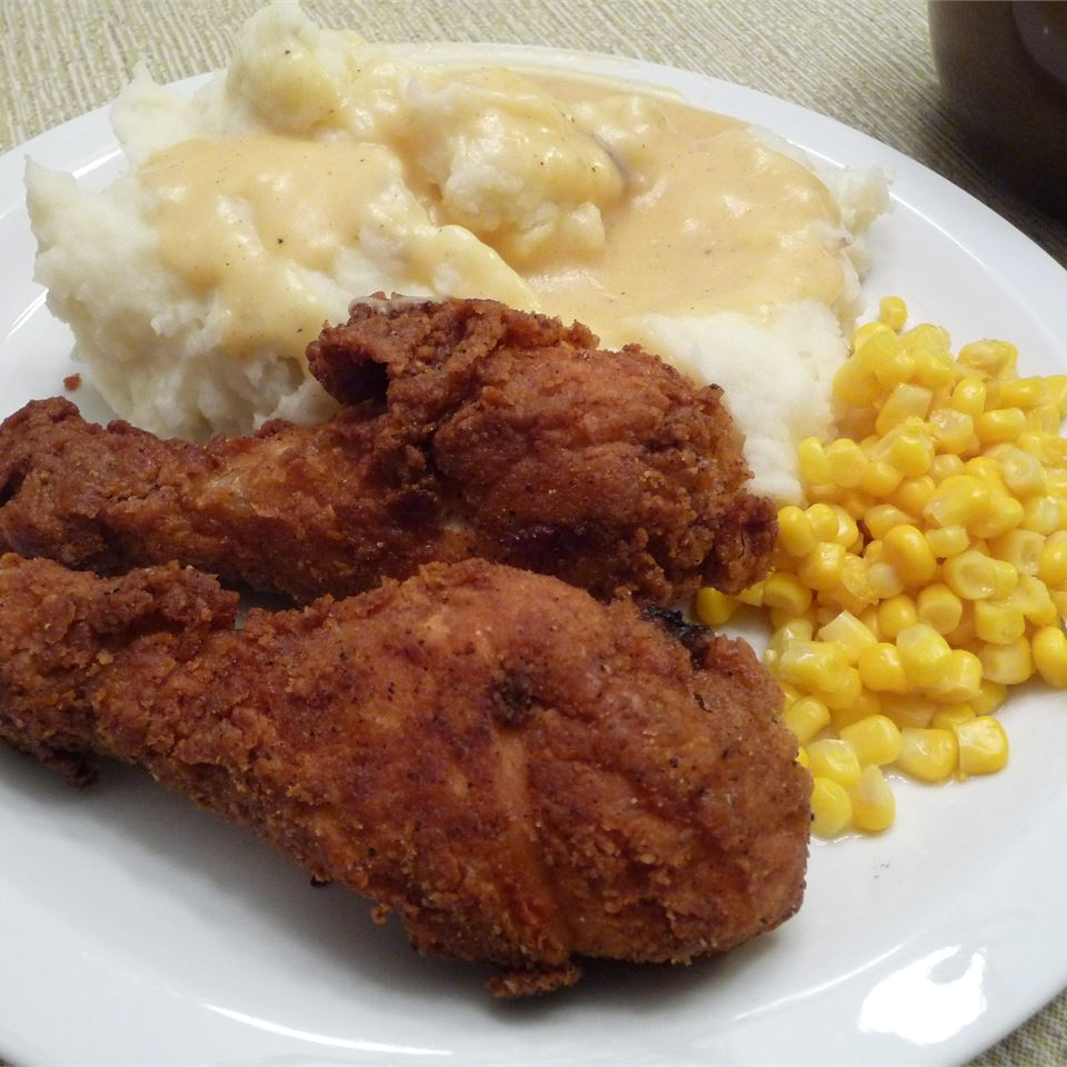 Fried Chicken with Creamy Gravy Gina