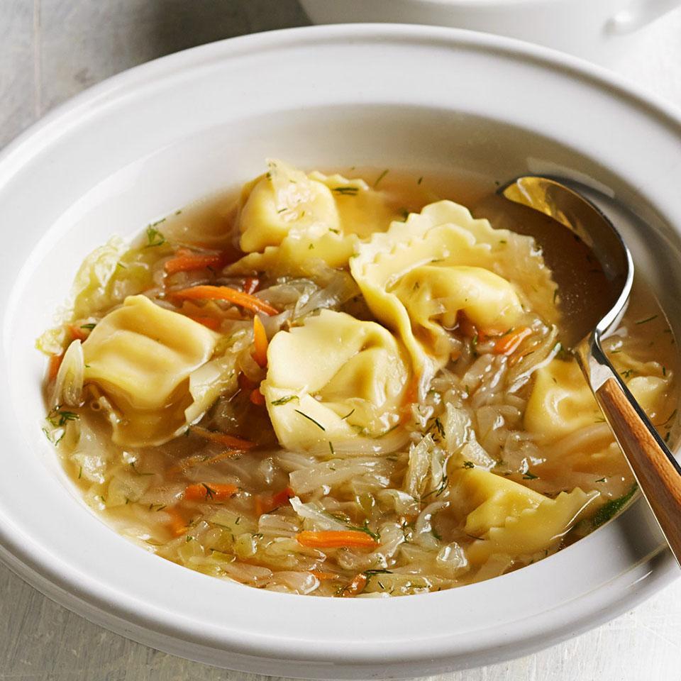Russian Tortellini Soup EatingWell Test Kitchen