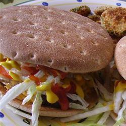 Hamburgers - It's in the Bun Christina