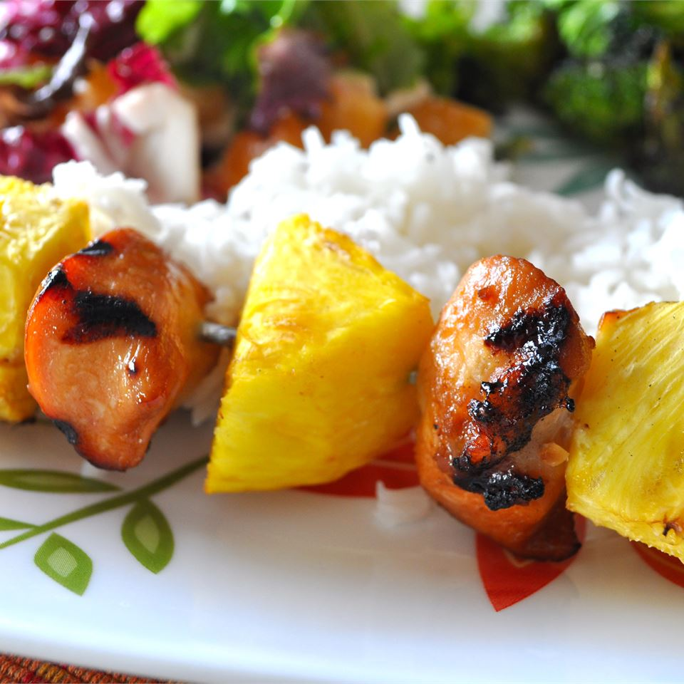 Hawaiian Chicken Kabobs dailyn2003