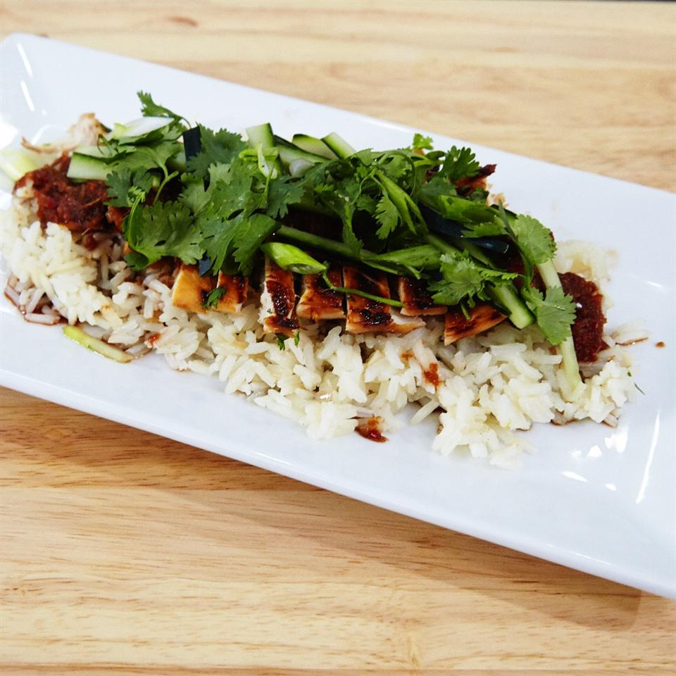 Jackie's Lemongrass Ginger Chile Chicken and Rice cooksinheels