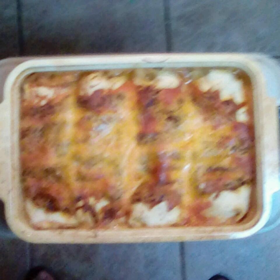 Chicken Enchiladas with Sour Cream Frances Craig-Bettis