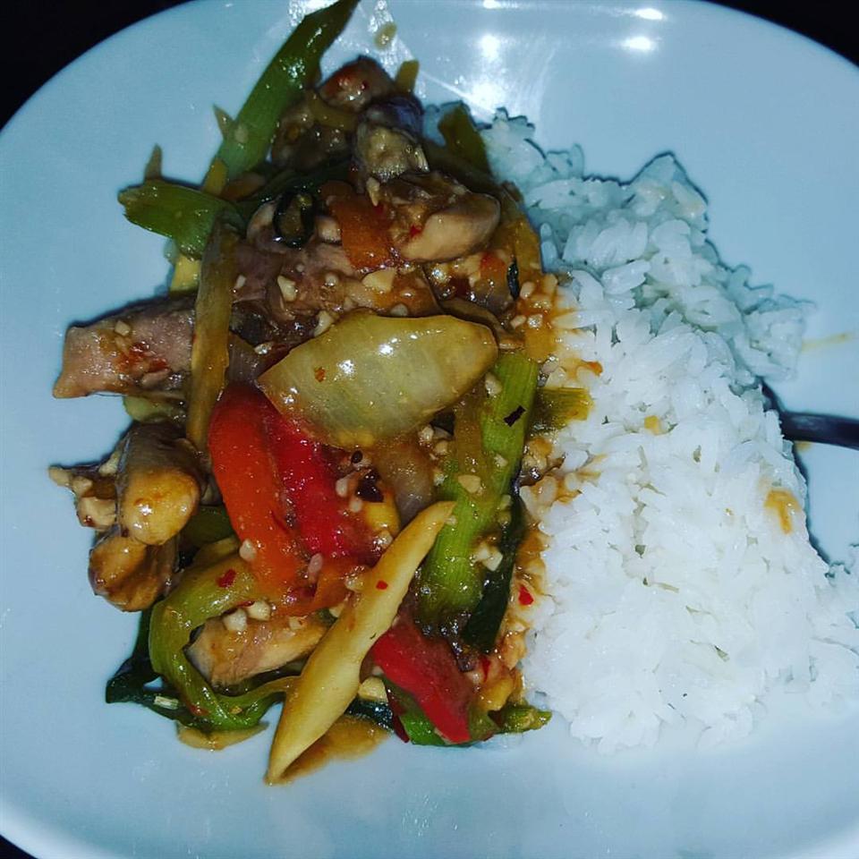 Thai Ginger Chicken (Gai Pad King) Tracey Jenkins