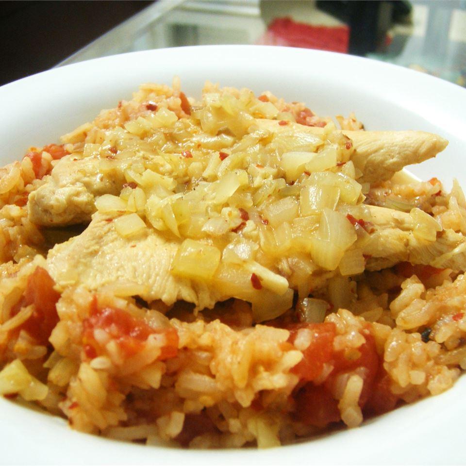 Viva Madrid Spanish Chicken