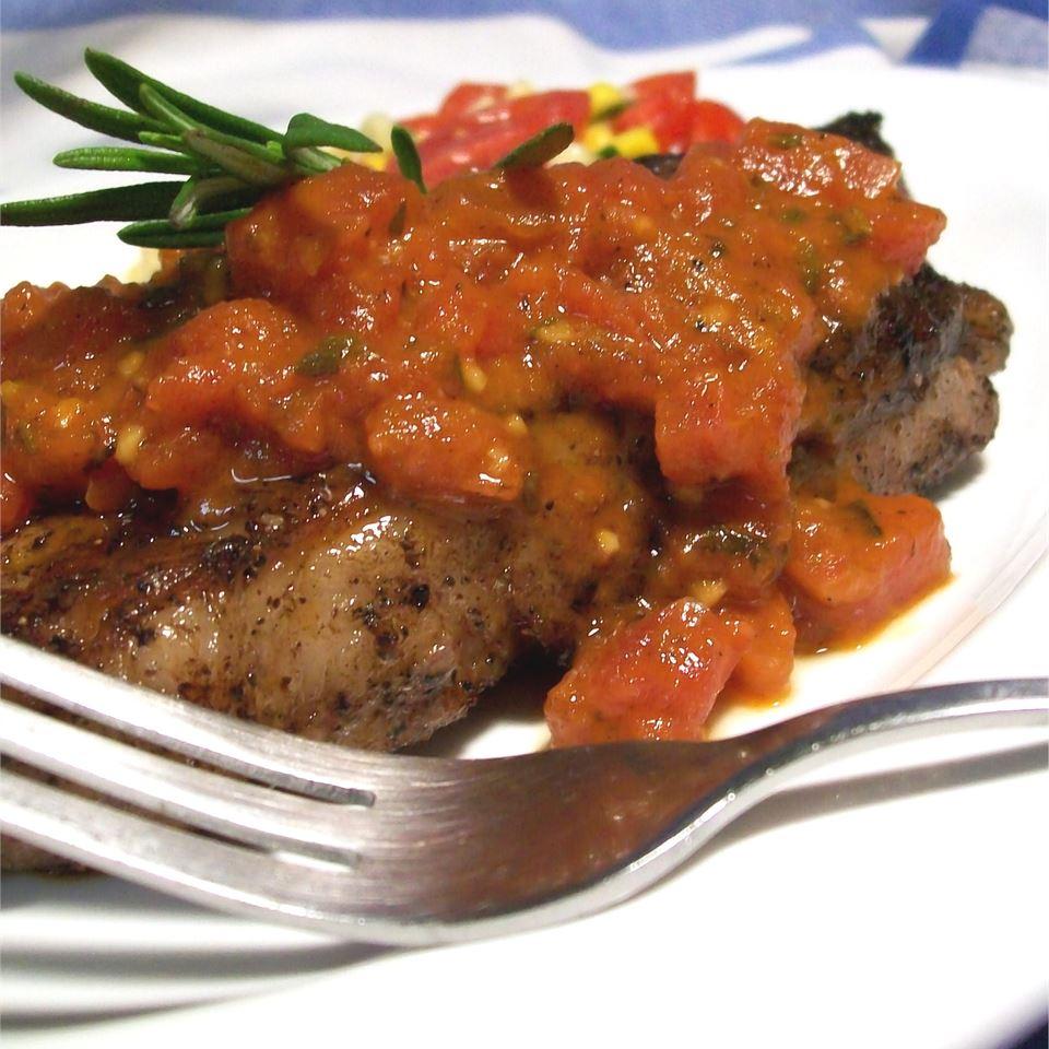 Tomato-Rosemary Pan Sauce Ben Shapiro