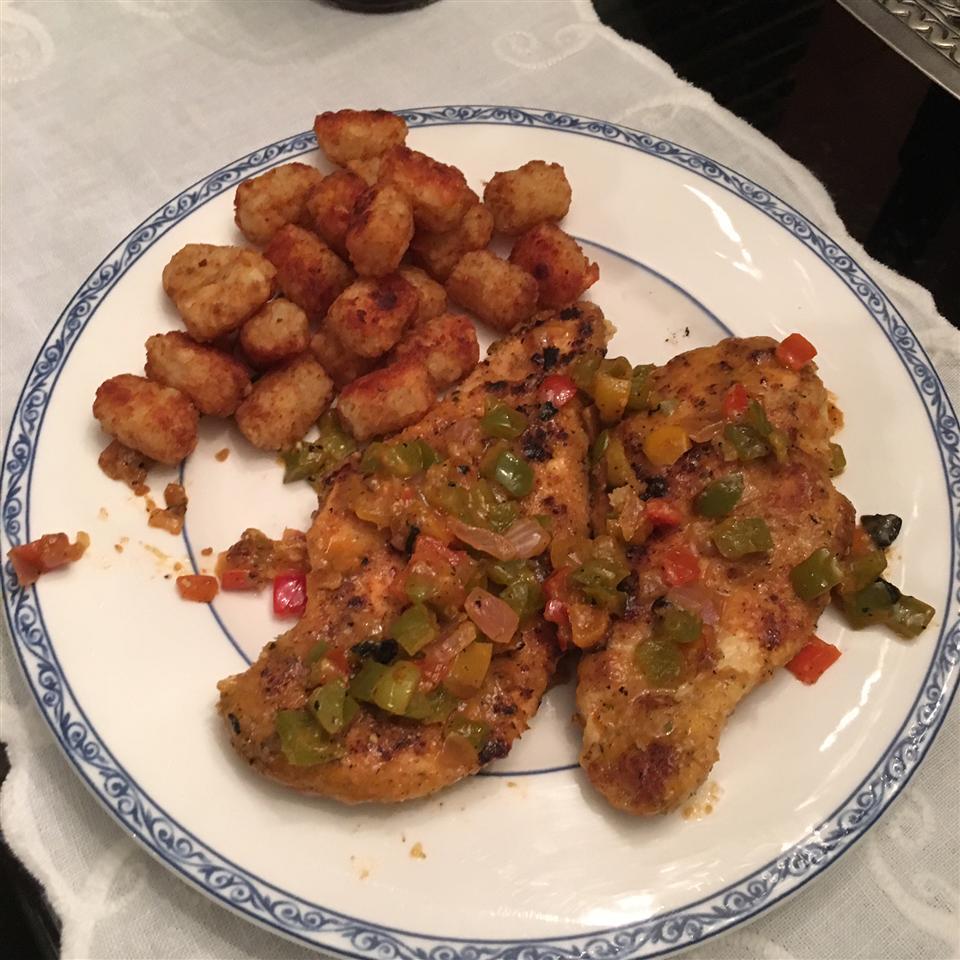 Three Pepper Chicken Moni