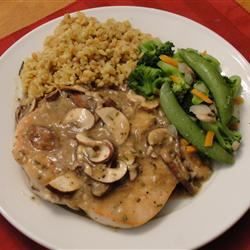 Pan-Seared Chicken Breasts with Shallots Emily M.