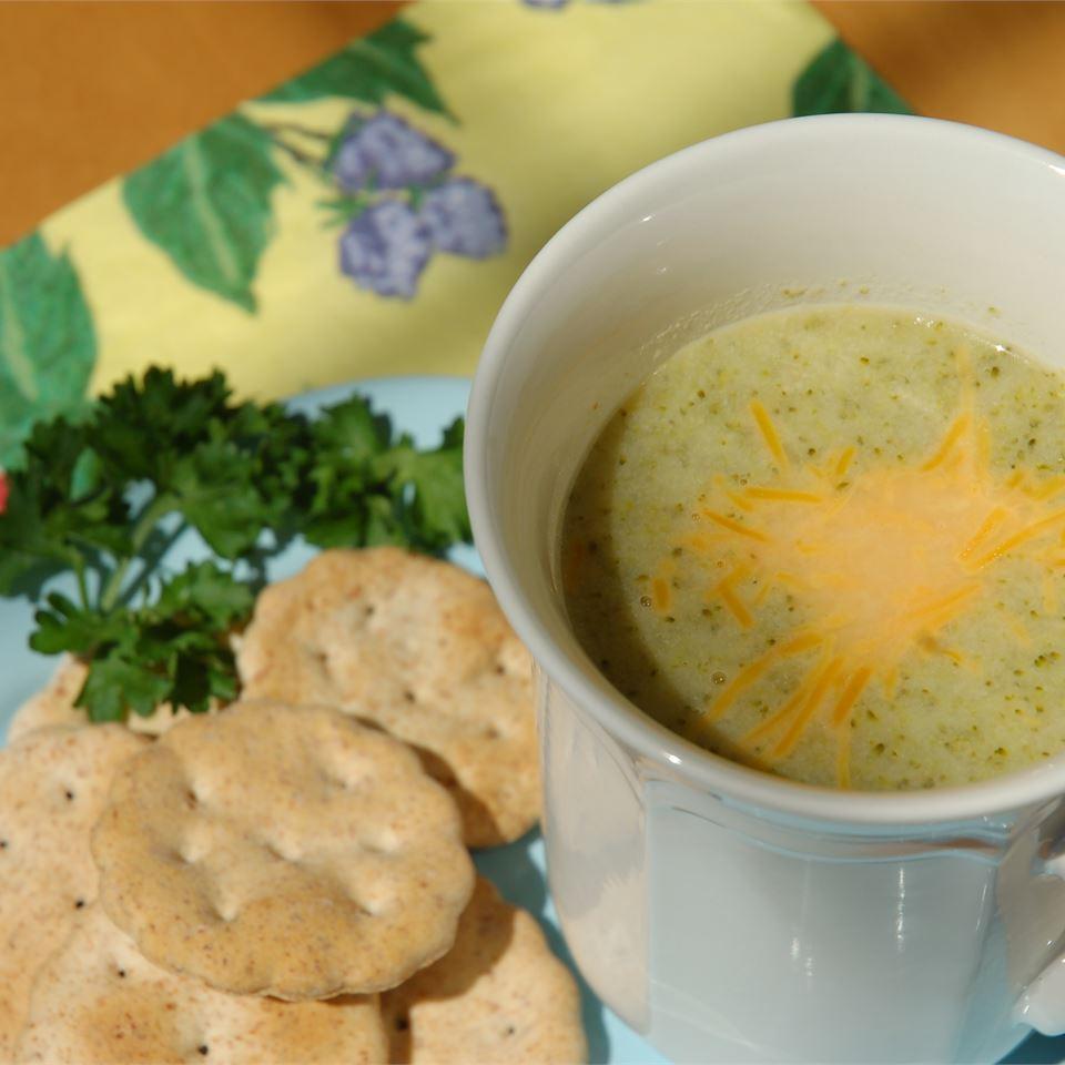 Cream of Broccoli Soup I cookin'mama