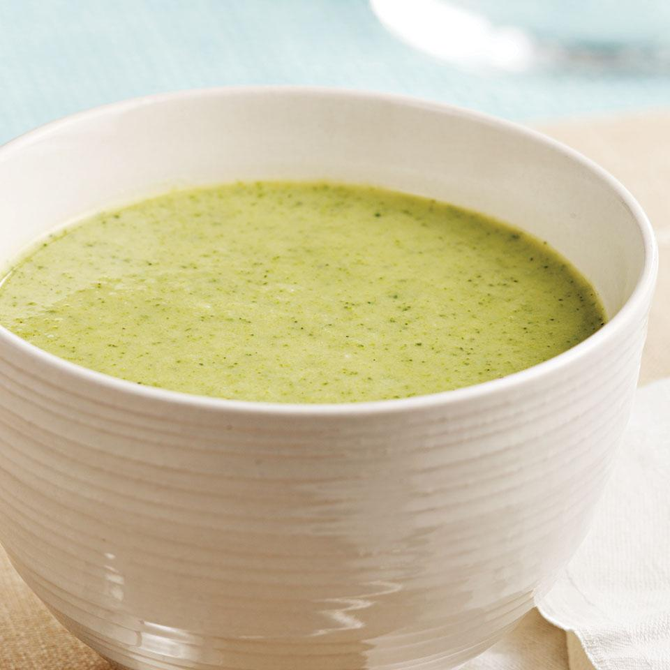 Pureed Broccoli Soup
