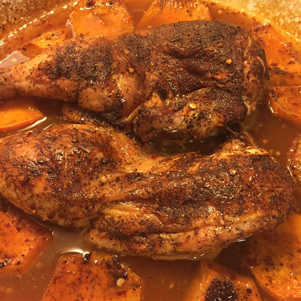Roasted Cinnamon Chicken